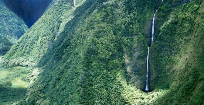 Waihilau Falls, Hawaii