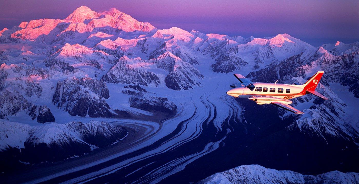 Try Flightseeing Mount McKinley