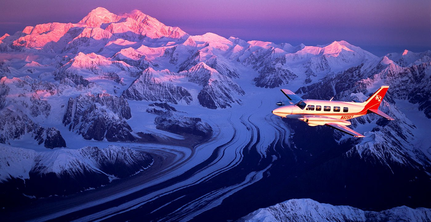 Try Flightseeing Mount McKinley