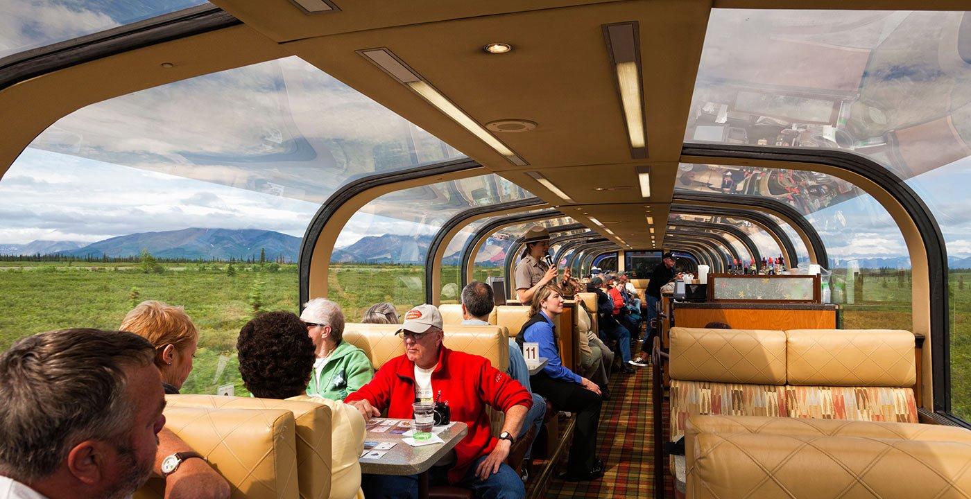 Don't Drive — Take the Train to Denali