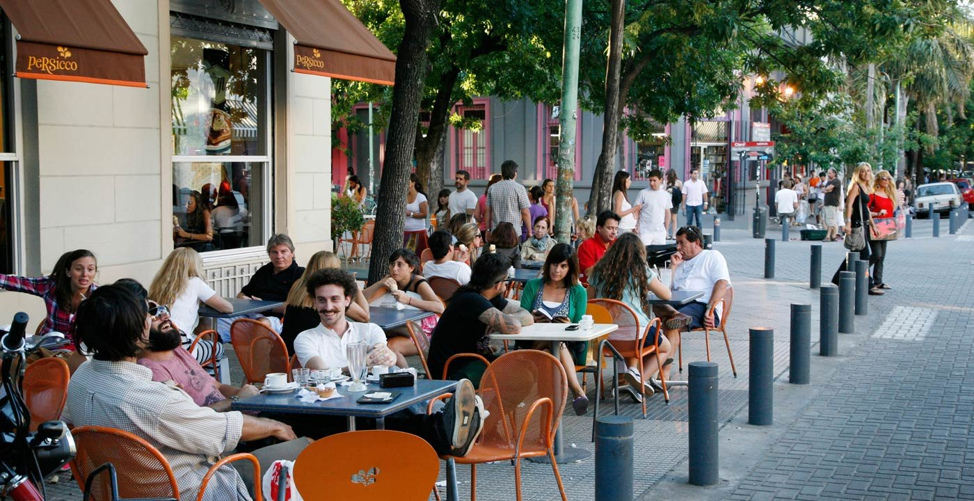 Lively Bars and Cafés in Palermo Soho