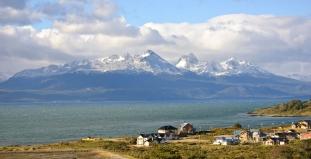 Aerial View of Tierra del Fuego