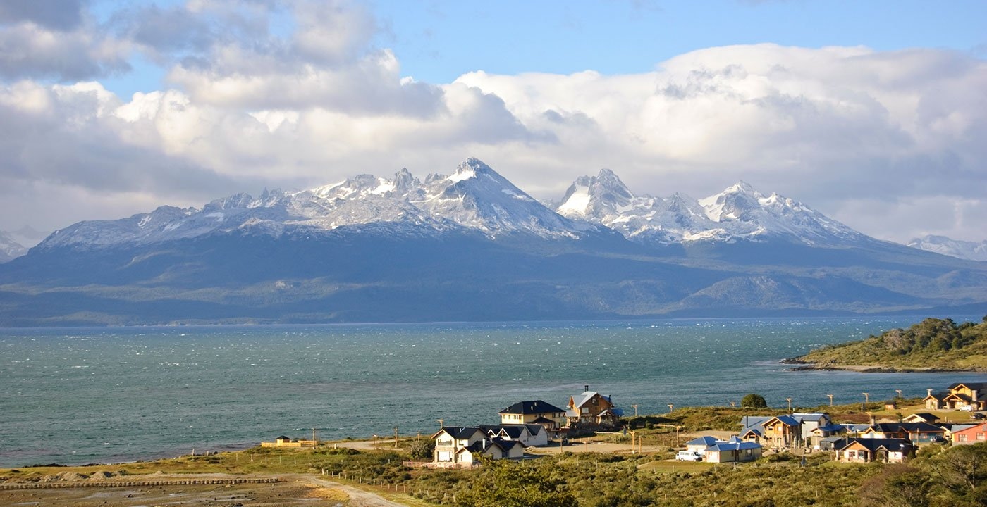 Aerial View of Tierra del Fuego