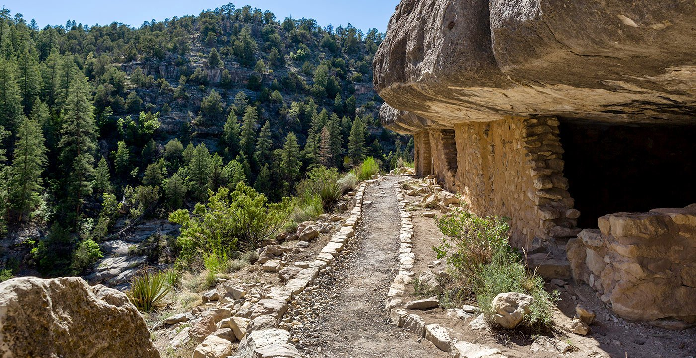 An Evocative View of the Past: Walnut Canyon