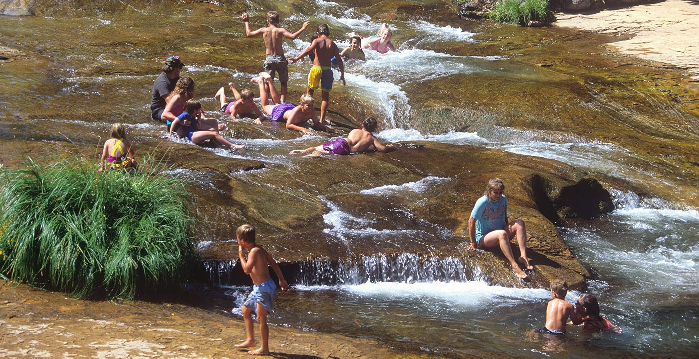 Wet and Wild: Slide Rock State Park