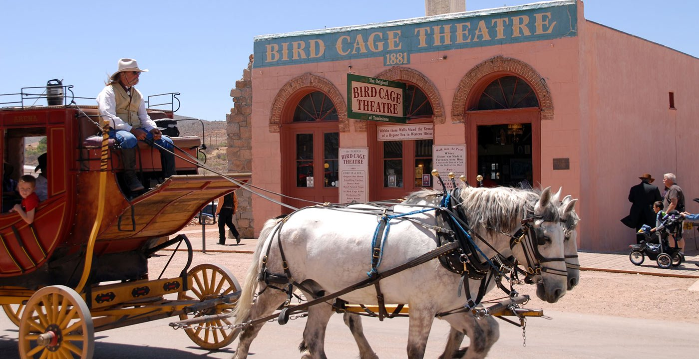 The Bird Cage Theater Is a True Time Capsule