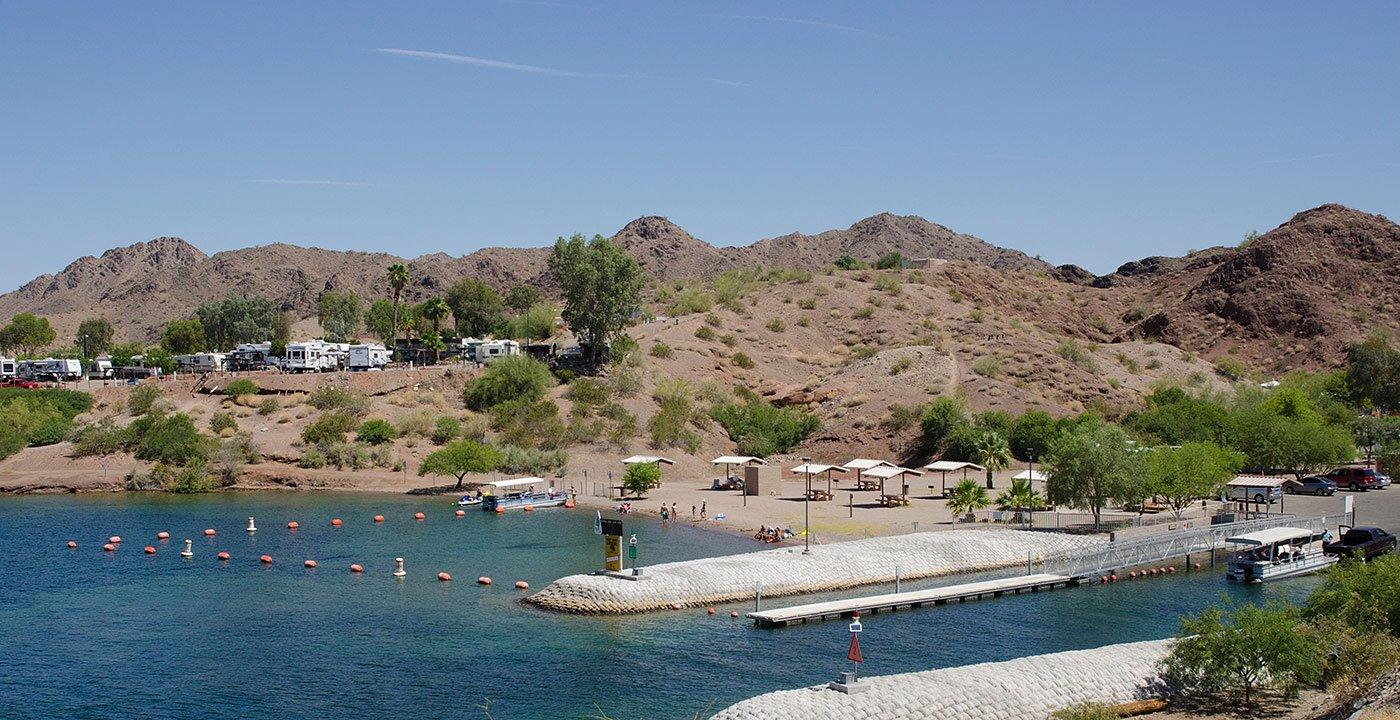Enjoy a Quiet Park on the Lakeshore