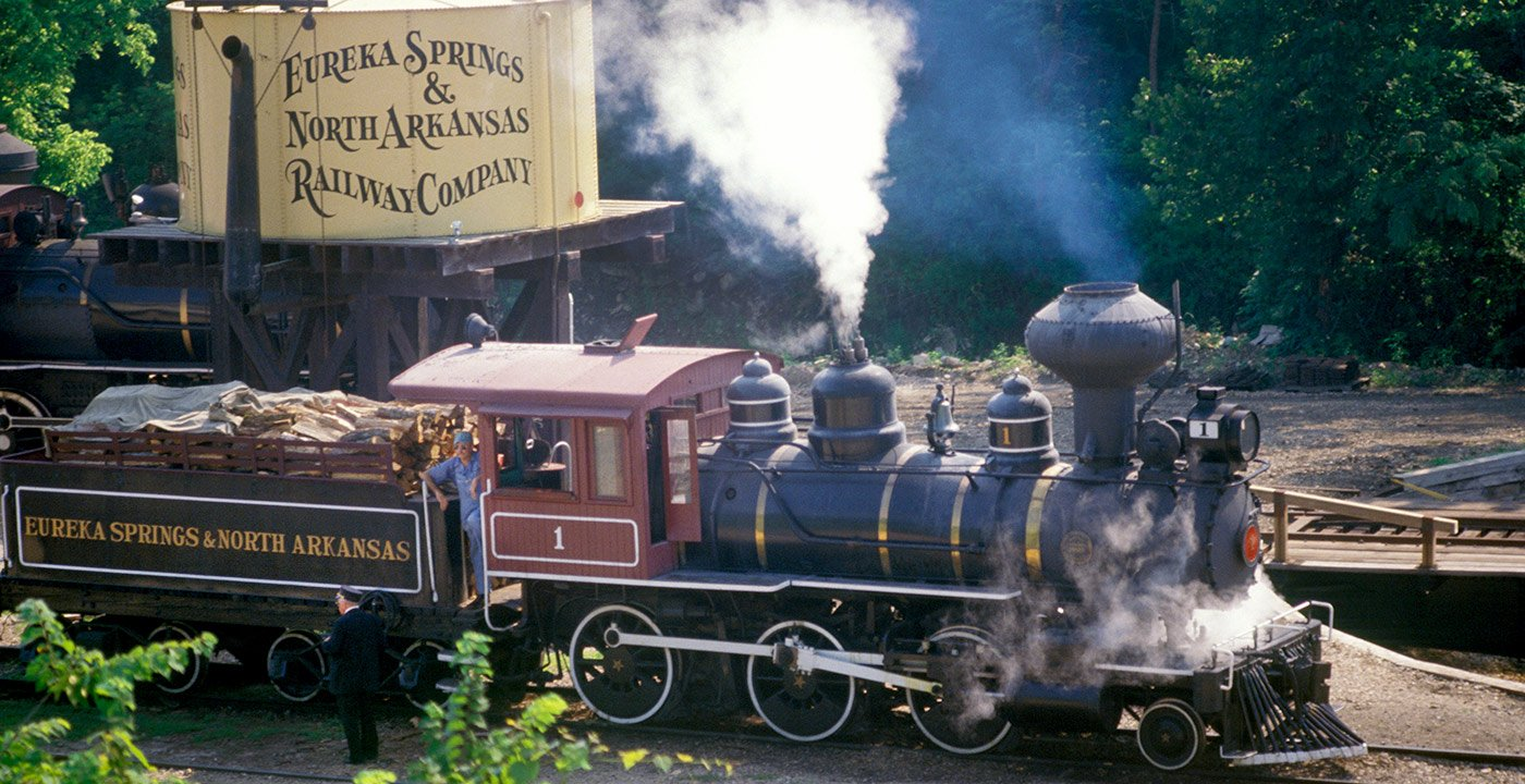 Eureka Springs Steam Locomotive