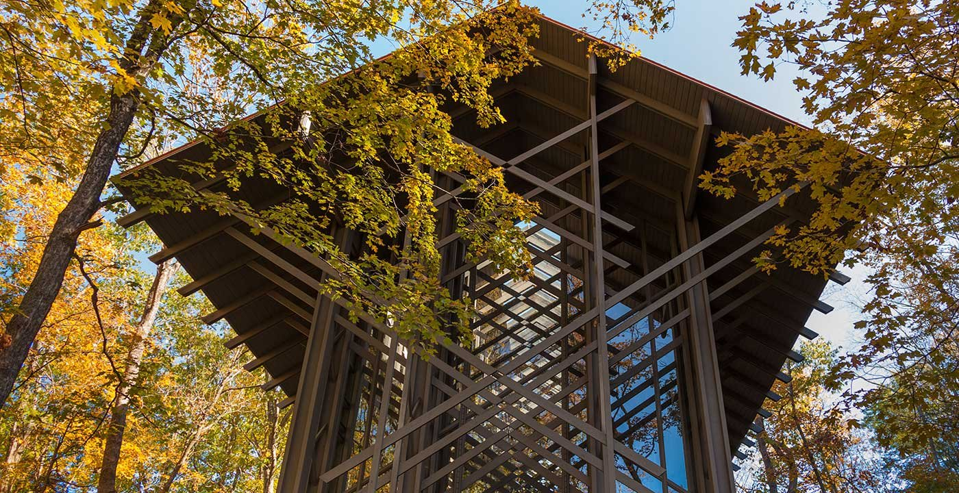 See Much-Honored Thorncrown Chapel
