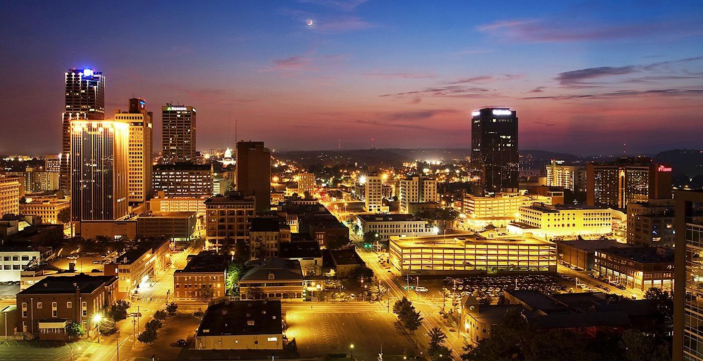 Little Rock Night | Little Rock Arkansas