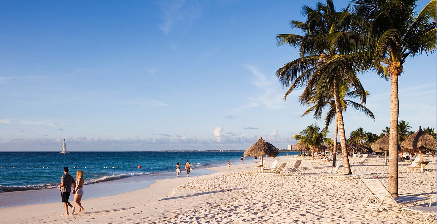 Glorious Beaches Line the Southern Coast