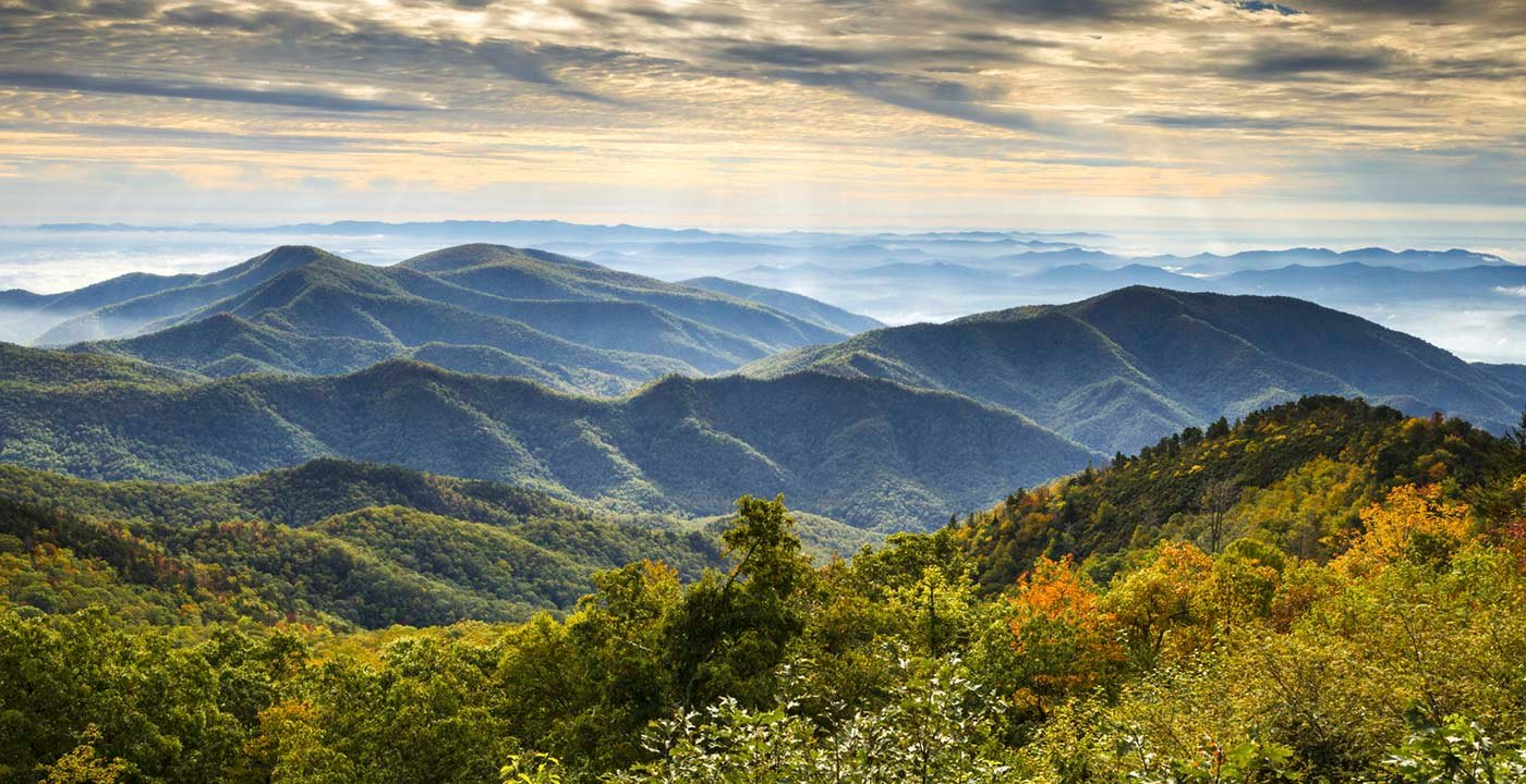 Asheville Mountains