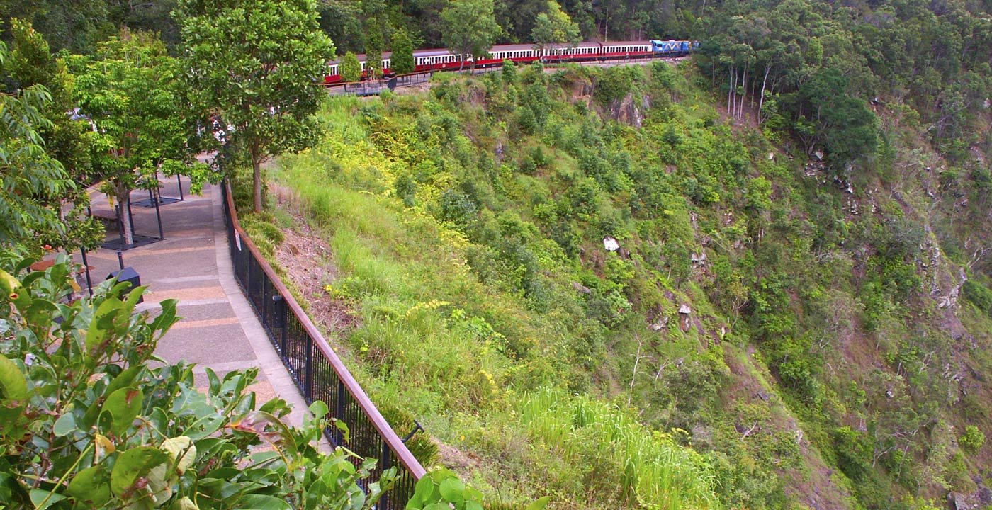 Train From Cairns to Queensland's Highlands