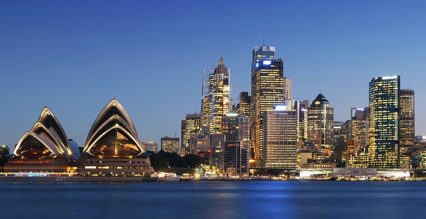 Blue Sydney
