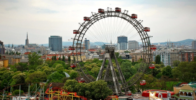 A Famous Ferris Wheel at the Prater