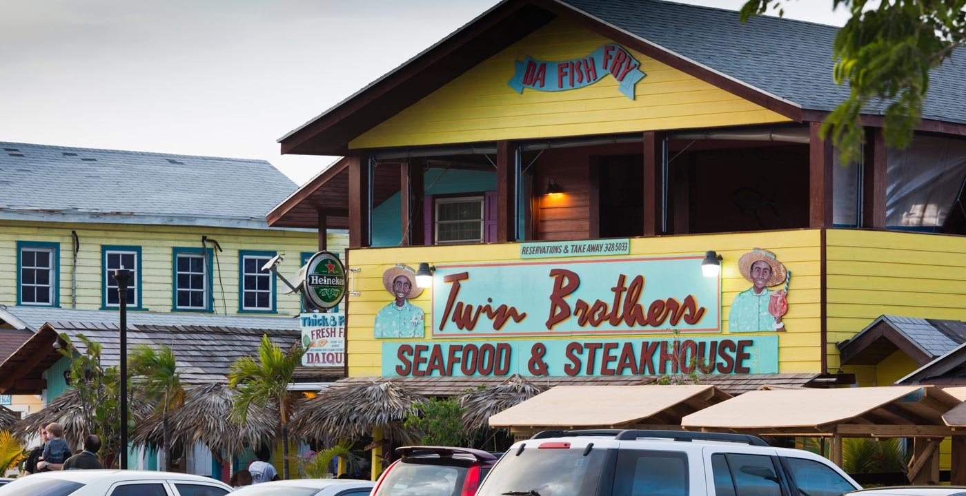 Seafood Is King on Funky Arawak Cay