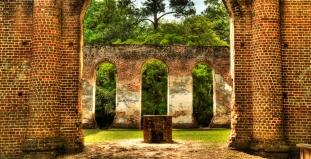 Ruins in Beaufort, SC