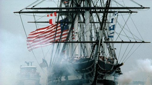 Climb Aboard the USS Constitution