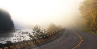 Roadway Near Brattleboro
