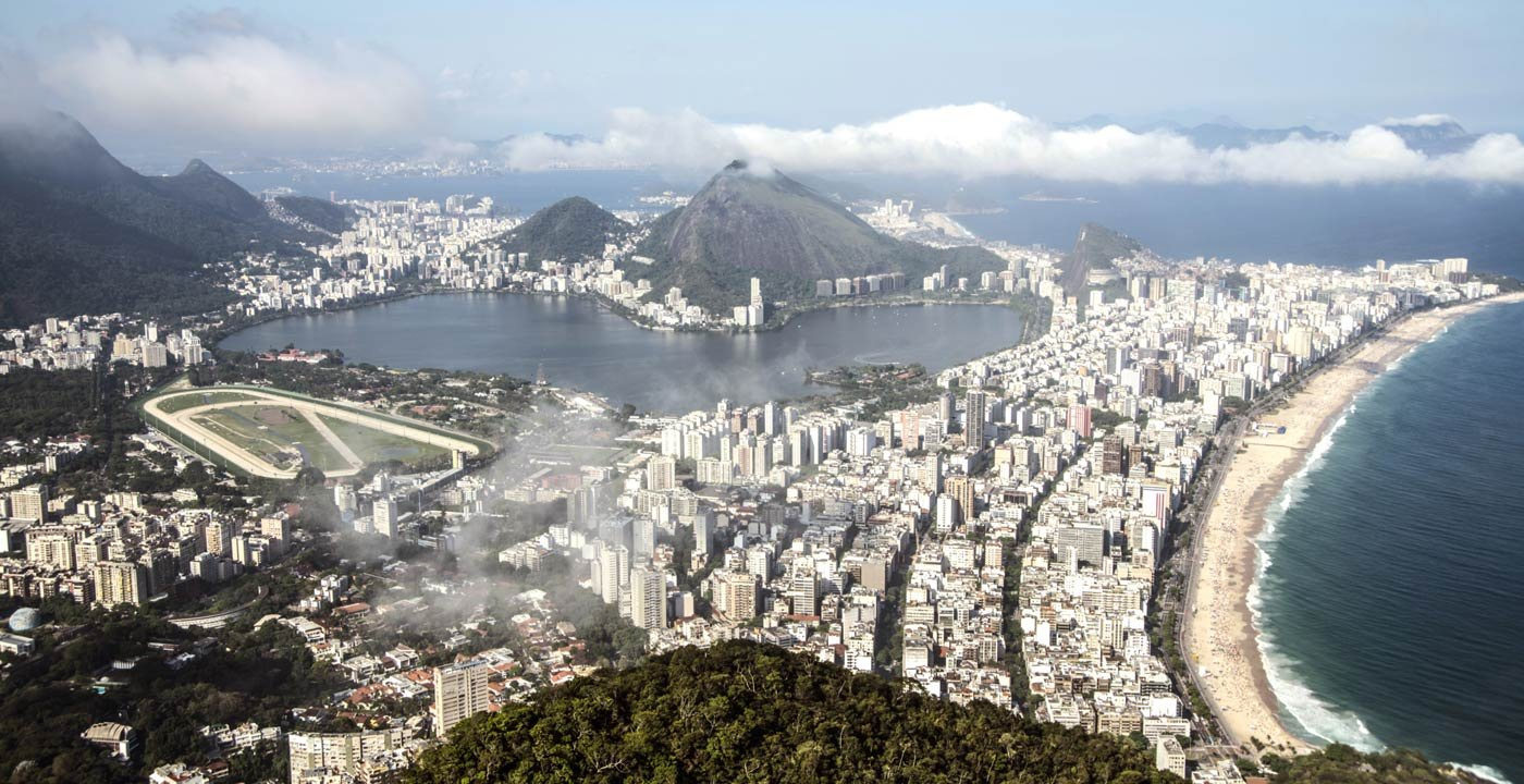 Bird's Eye View of Rio de Janeiro