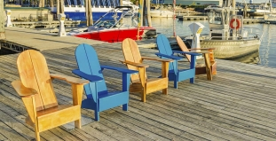 Dock by Lake Champlain