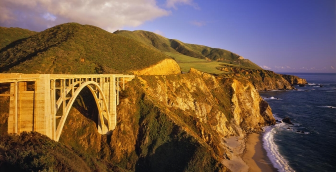 Photograph Bixby Bridge