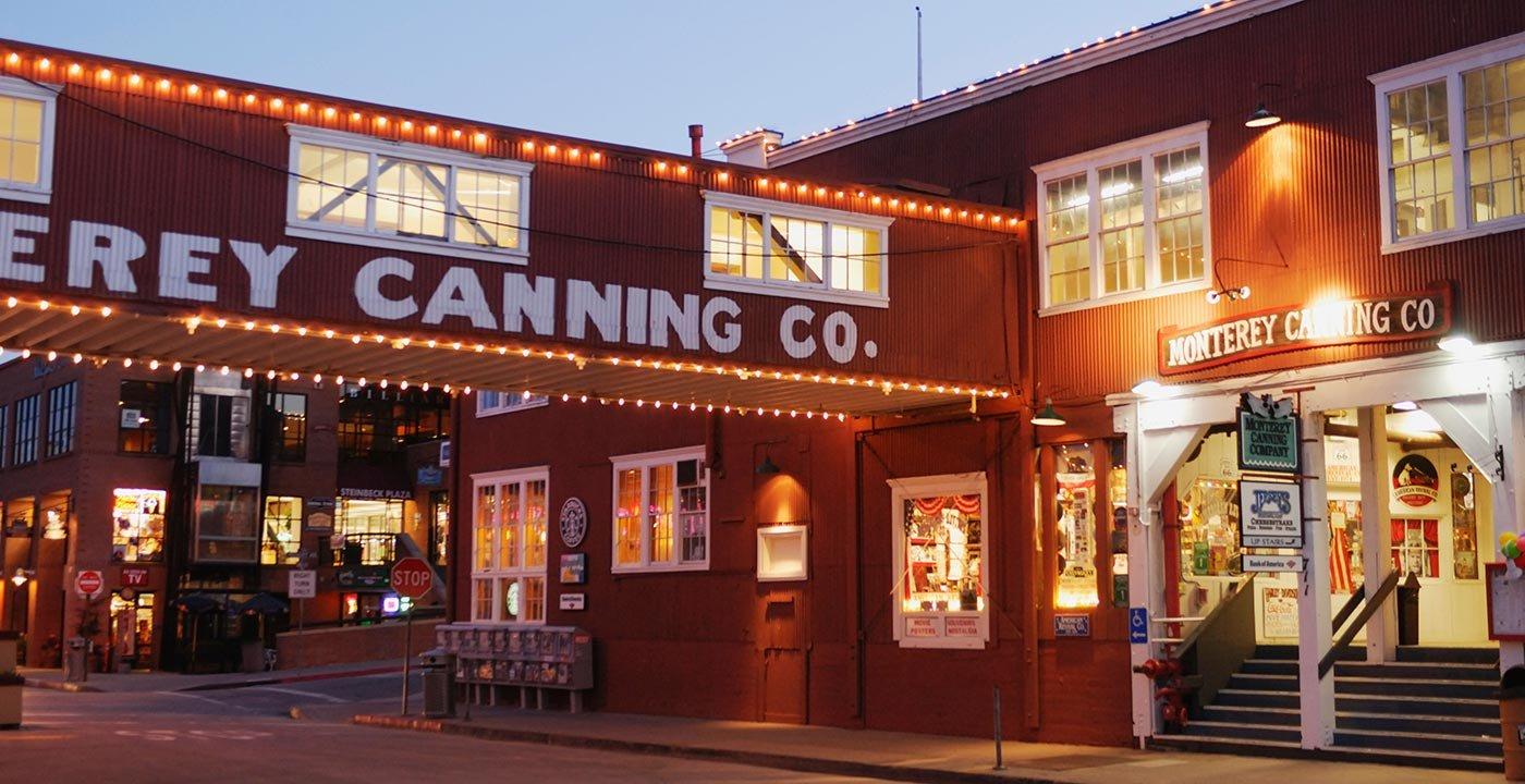 Stroll Cannery Row