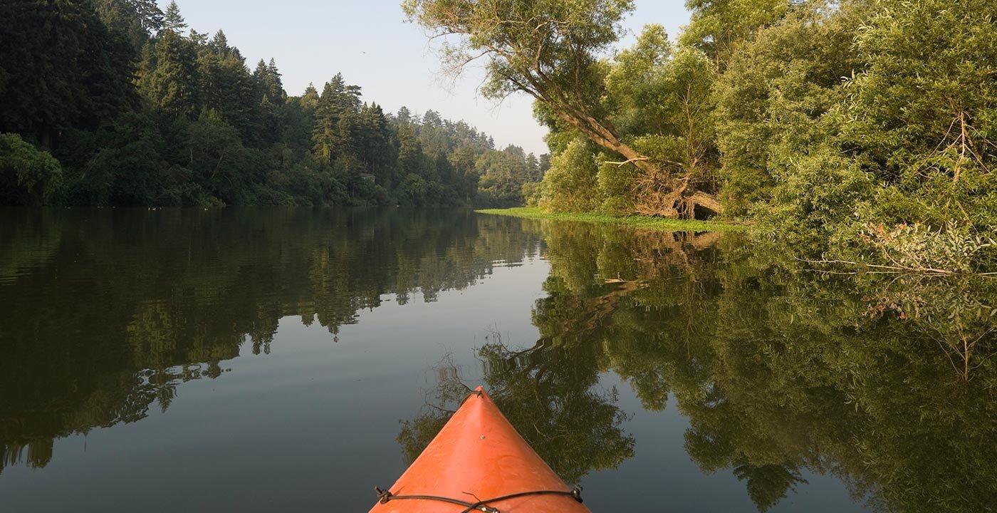River in Sonoma Valley