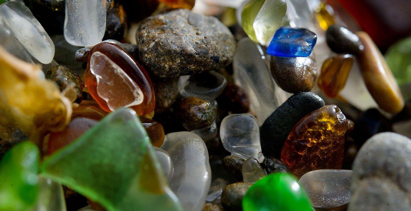 Explore Fort Bragg's Glass Beach