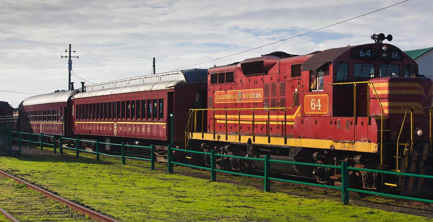 Climb Aboard the Historic Skunk Train