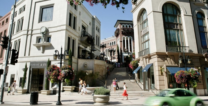 Walk the Rodeo Drive Runway