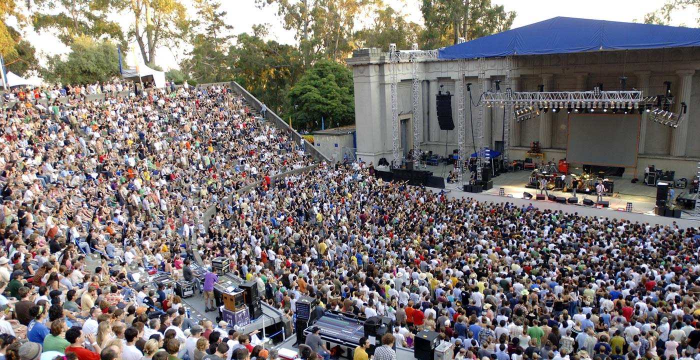 See a Show at the Hearst Greek Theatre
