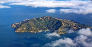 Aerial View of Angel Island