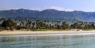Beach in Santa Barbara