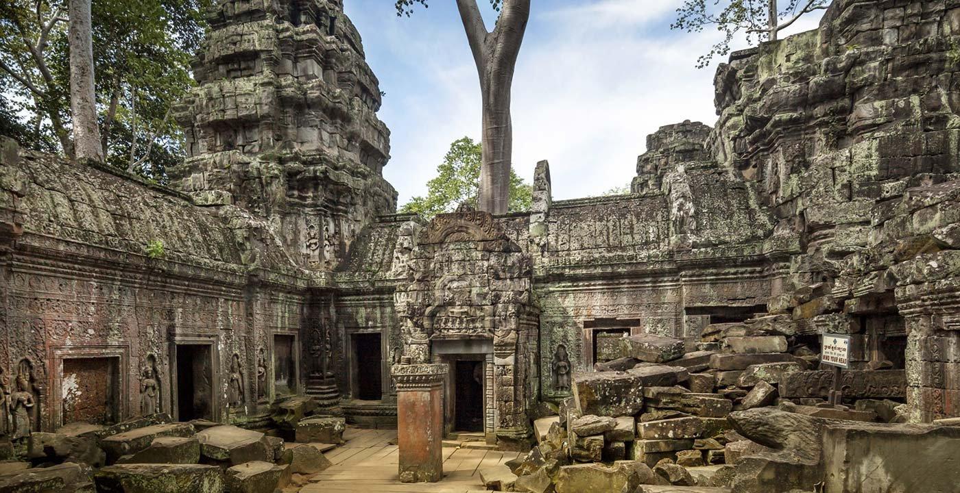 Interior of Angkor Wat
