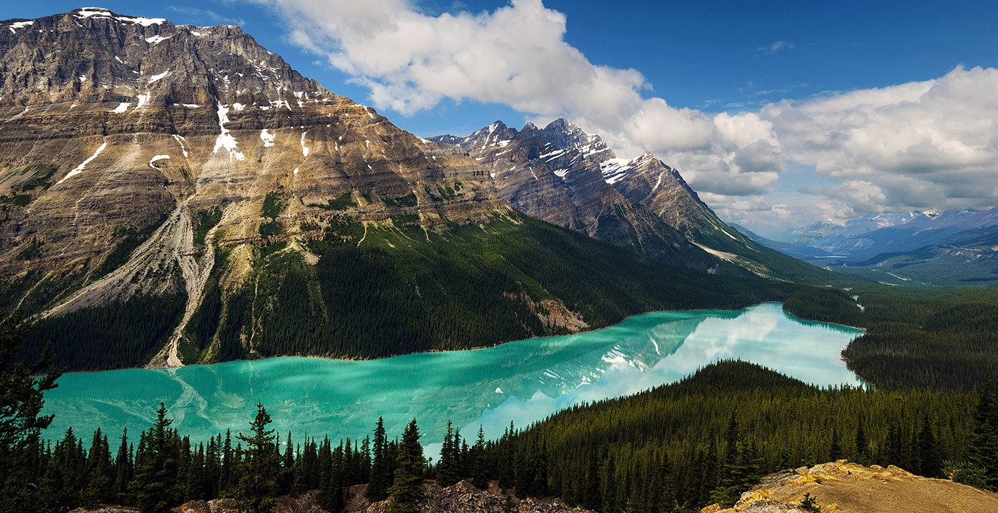 You May Not Believe Your Eyes at Peyto Lake