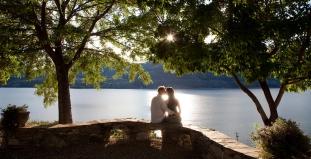 Couple by Okanagan Lake