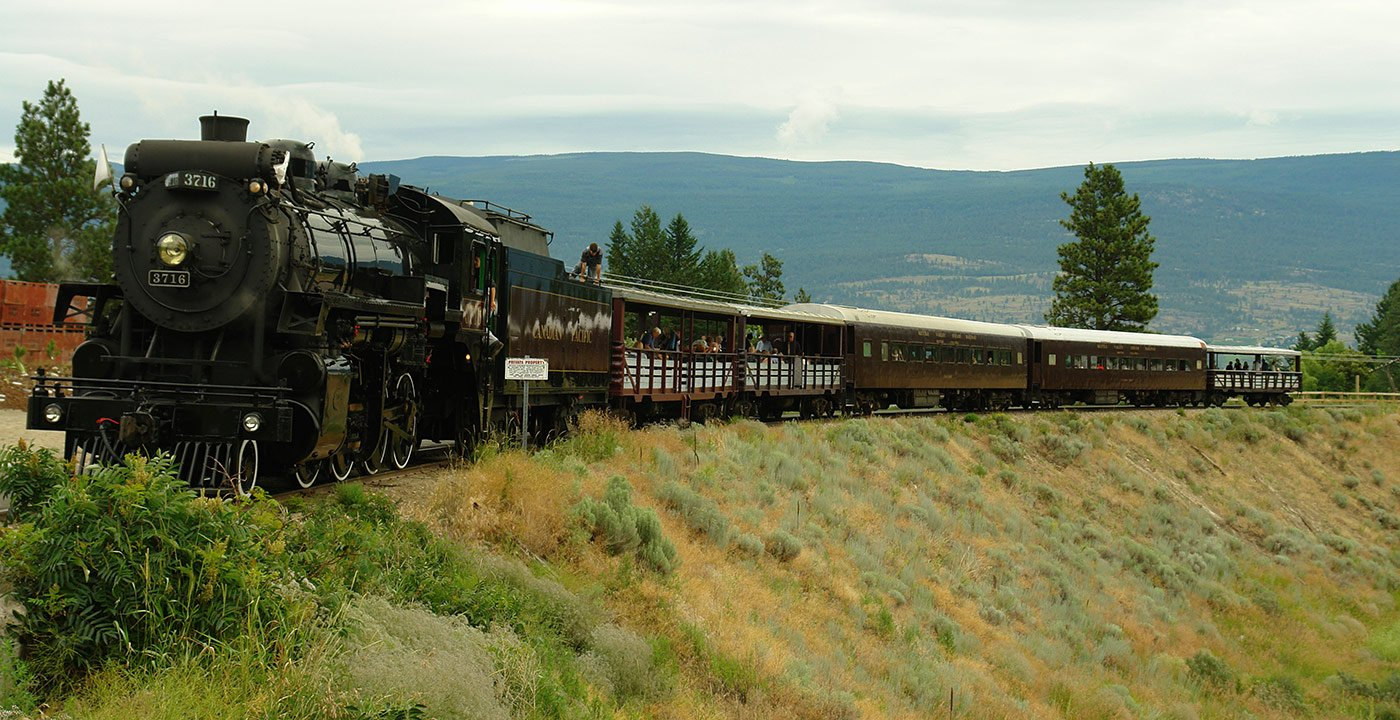 Kettle Valley Steam Railway: Ride Into History