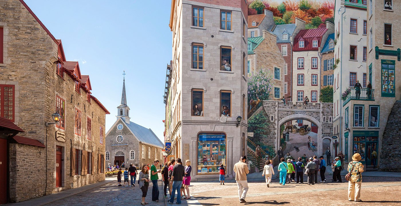 Where Samuel de Champlain Founded the City