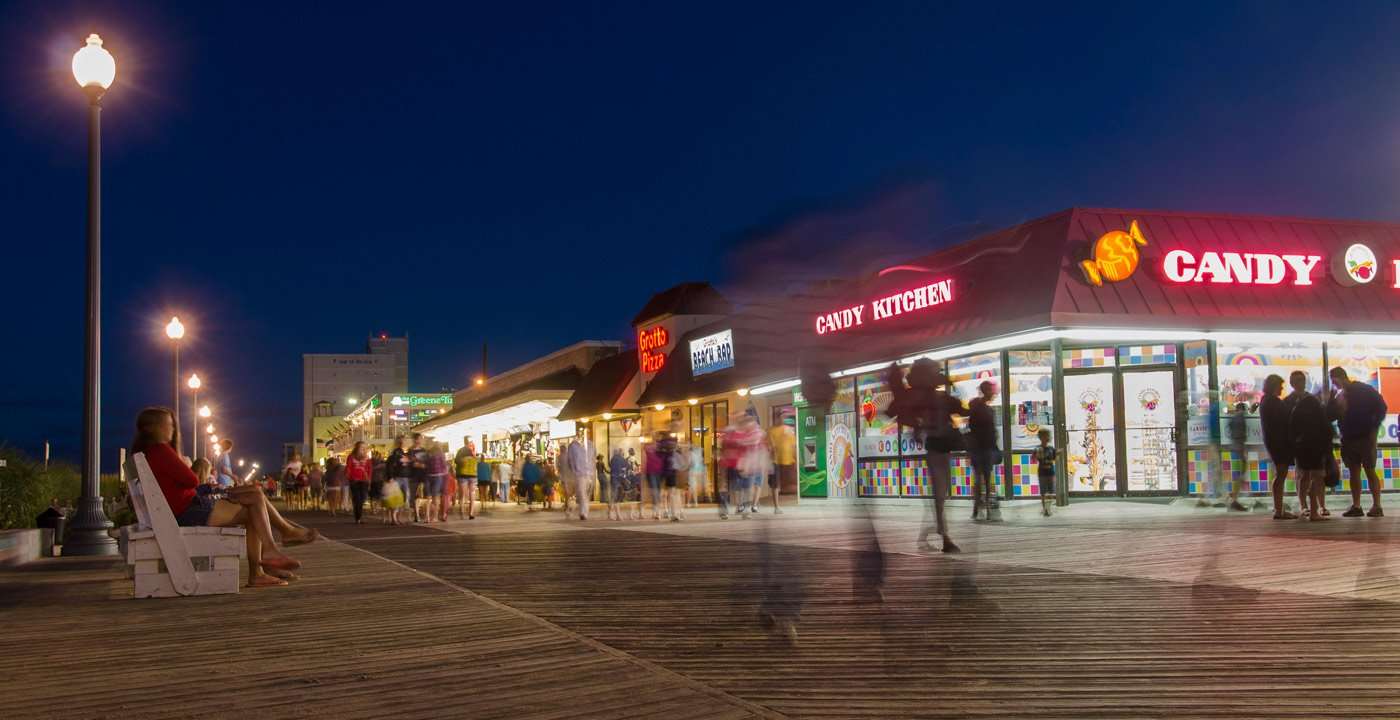 Under — Or On — The Mile-Long Boardwalk