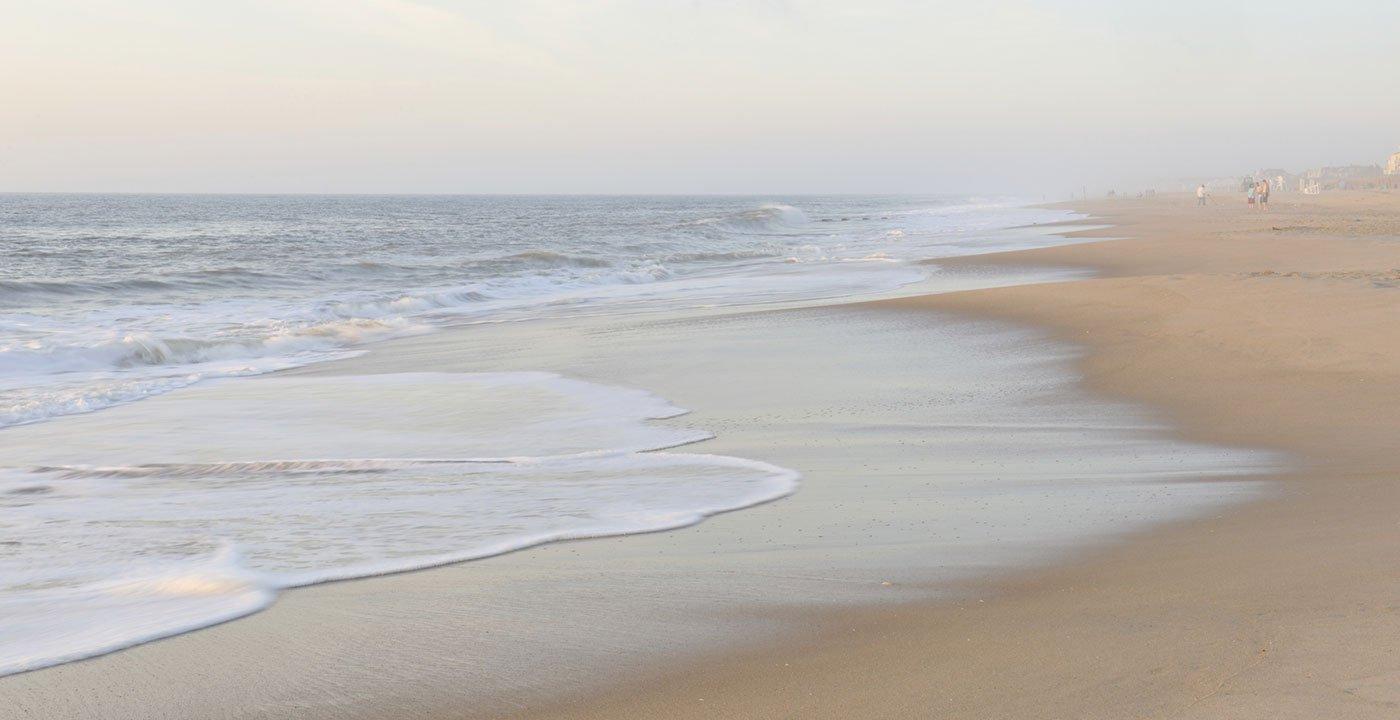 Waves Along Rehoboth Beach