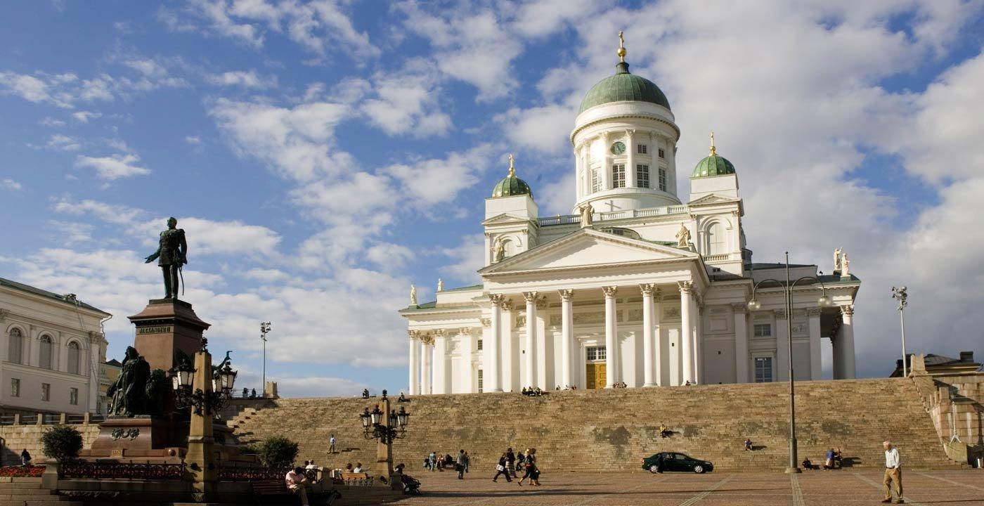 Grand Senate Square: The City's Neoclassical Heart