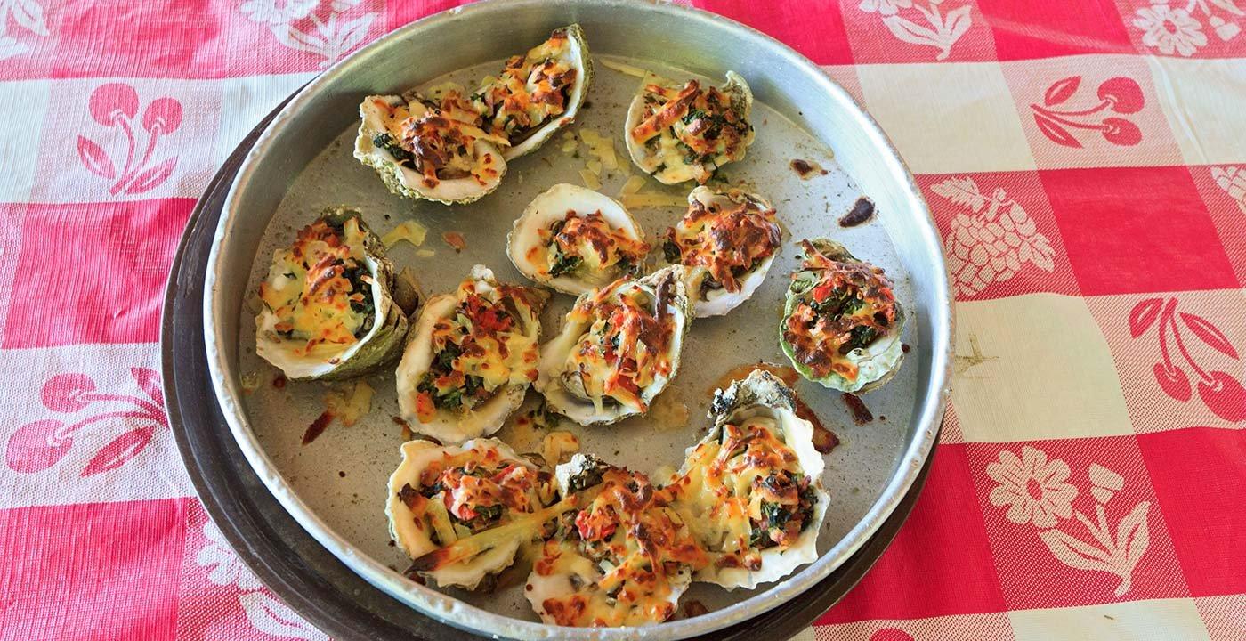 Slurp 'Em Up at the Boss Oyster Restaurant