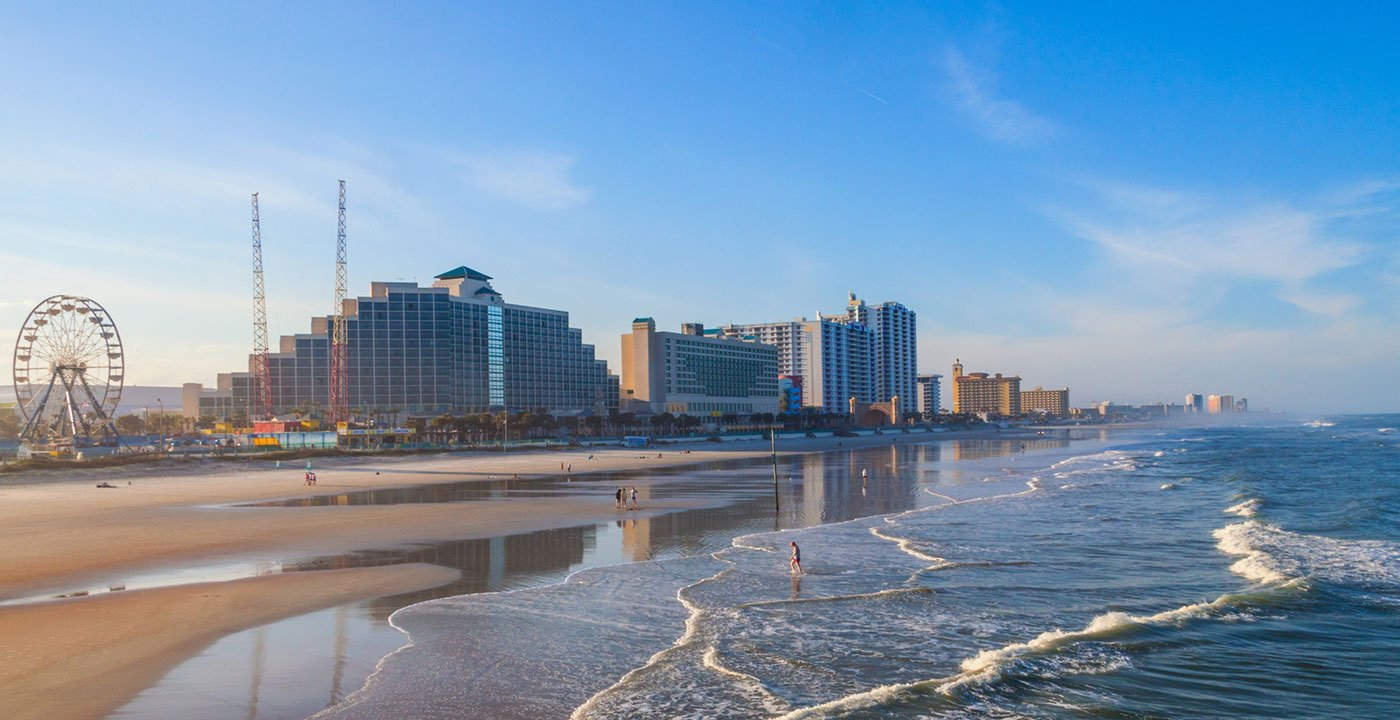Daytona Beach Vacation Travel Guide And Tour Information