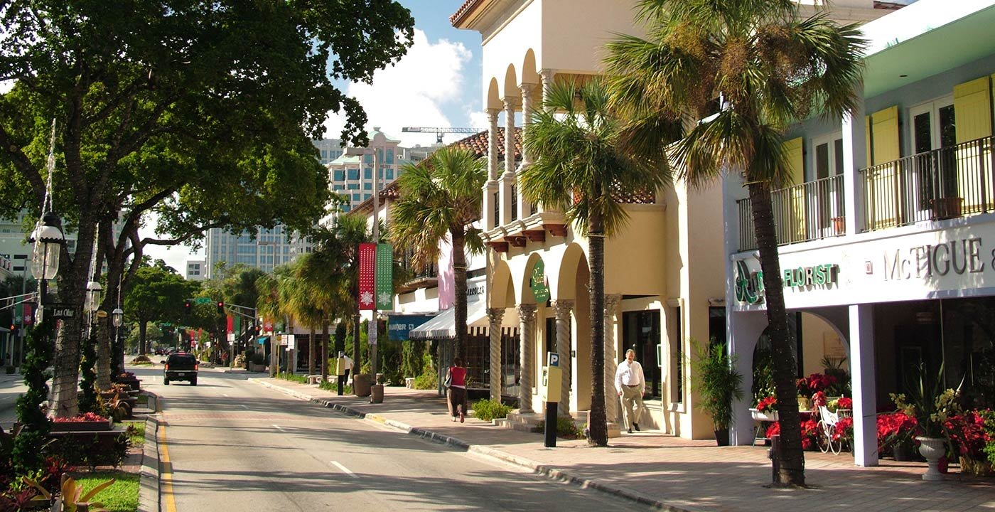 People-Watch on Las Olas Boulevard