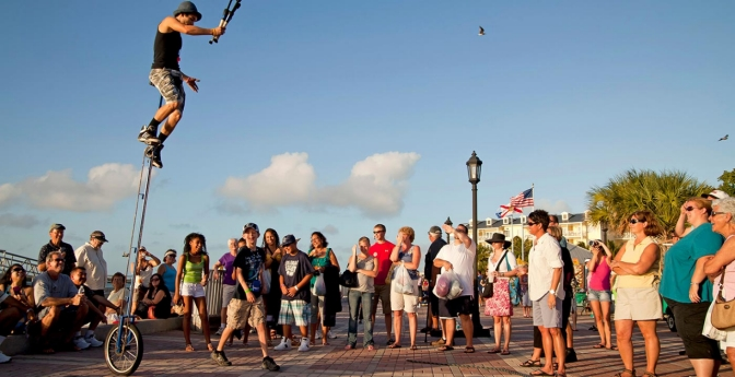 Celebrate Sunset at Mallory Square, Key West