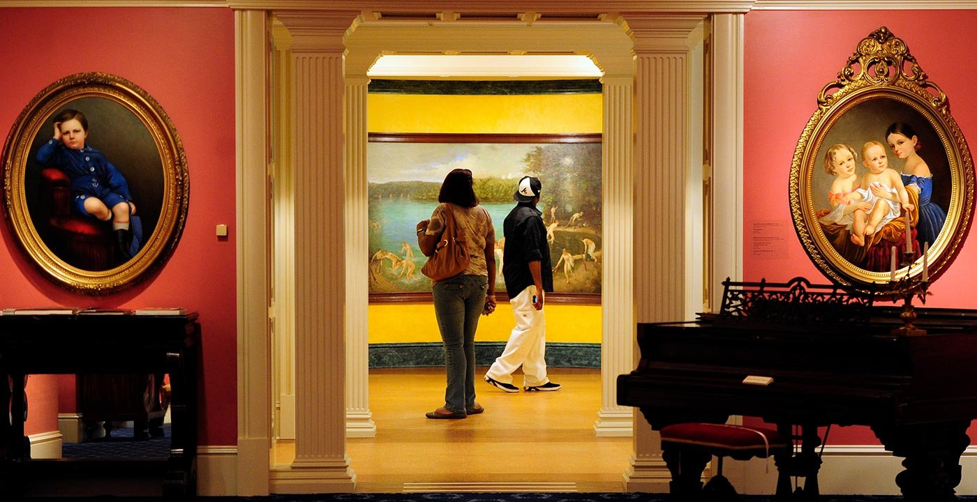 Morris Museum of Art on the Riverwalk