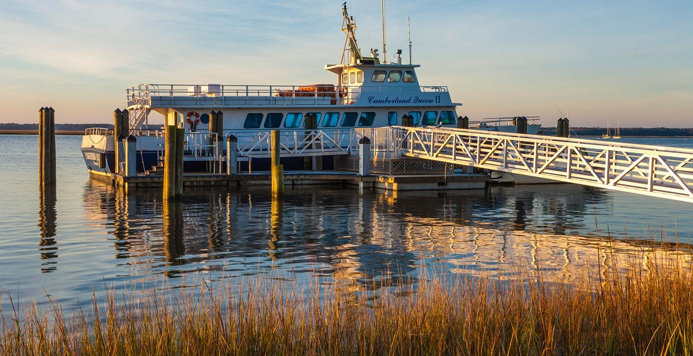 Ferry to Cumberland Island