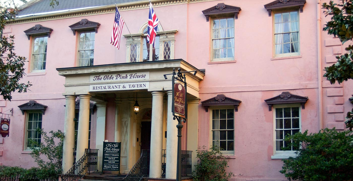 Eat Low County at the Olde Pink House