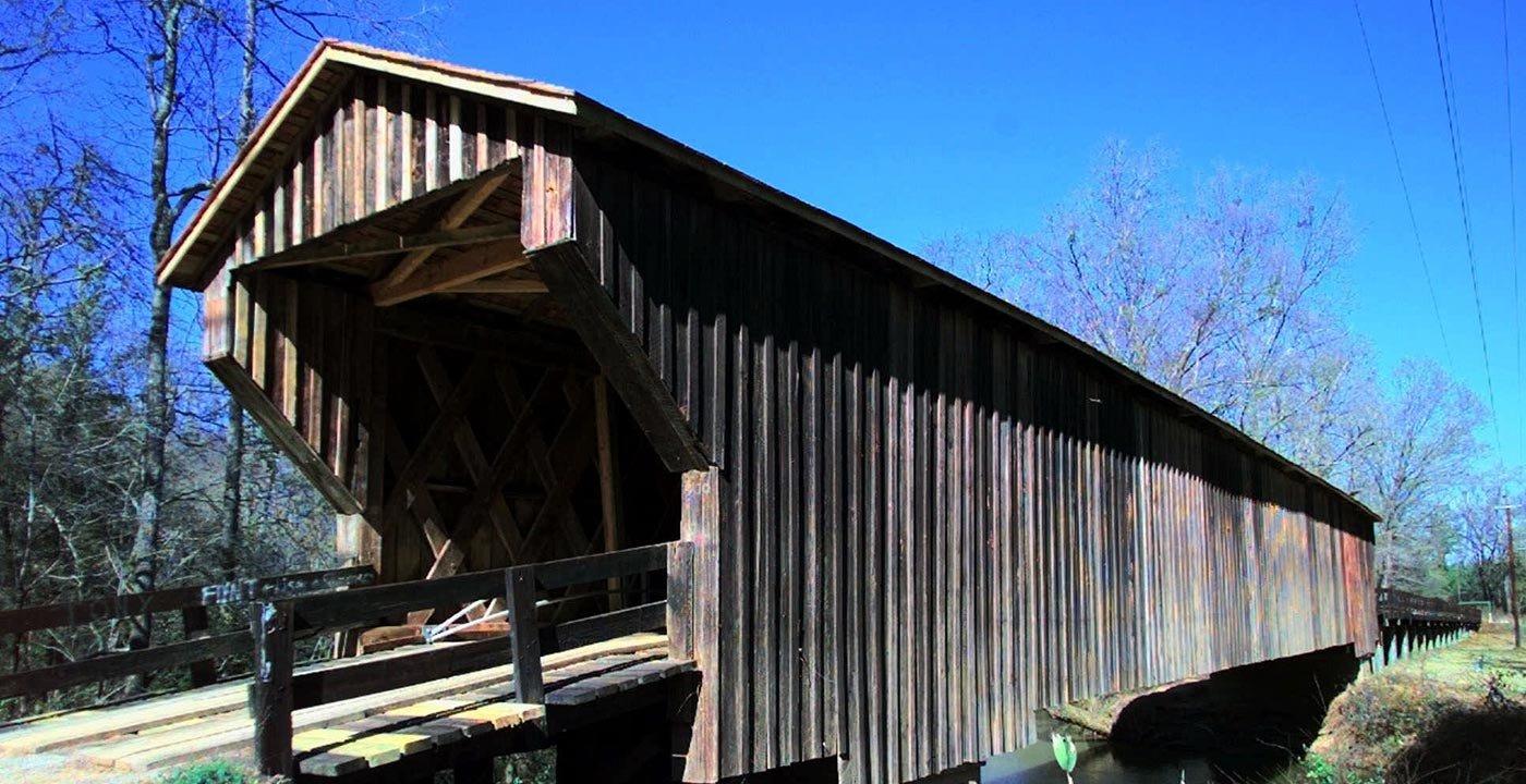 Drive Across Historic Imlac Bridge